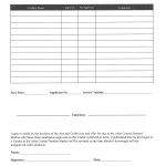 Craft certification form